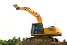 Free Excavator Stock Image - 33018851