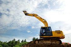 Free Excavator Stock Images - 33018864