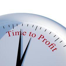 Free Time To Profit Stock Photo - 33019390