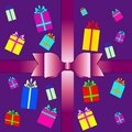Free Vector Set Of Colorful Gift Box Symbols Royalty Free Stock Photography - 33027767