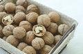 Free Walnut In Wire Basket Royalty Free Stock Photo - 33029115