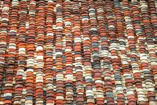 Free Chinese-style Colorful Roof Tiles Royalty Free Stock Image - 33024436