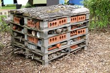 Animal House Shelter. Stock Image