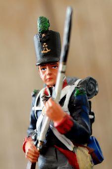 Free Retro Tin Soldier Stock Images - 33027224