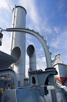 Cruiser Avrora Royalty Free Stock Photo