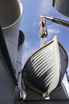 Cruiser Avrora Stock Images