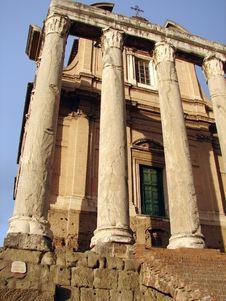 An Ancient Roman Temple