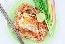 Free Pad Thai Royalty Free Stock Images - 33032239
