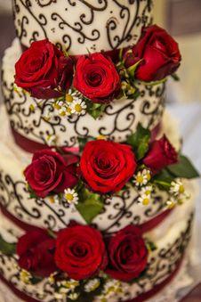 Free Wedding Cake Royalty Free Stock Photos - 33035048