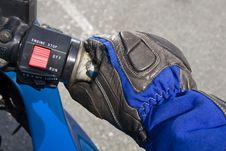 Free Biker Gloves Royalty Free Stock Photos - 33037418