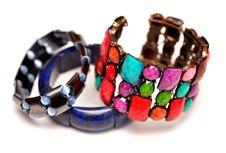 Free Hematite Lapis Lazuli Bracelets Stock Images - 33037454