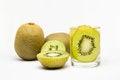 Free Kiwi Fruits In Glass Stock Photos - 33044343