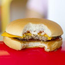 Free Cheese Hamburger Royalty Free Stock Image - 33043496