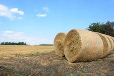 Free Hay Bales Stock Photos - 33043673