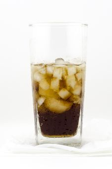 Free Soft Drink  On White Royalty Free Stock Image - 33043686