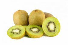 Free Sliced Kiwi Fruit Stock Photography - 33044302