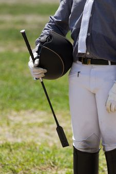 Free Jockey In Uniform Stock Photos - 33047113