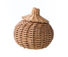 Free Wicker Basket Royalty Free Stock Photography - 33047637