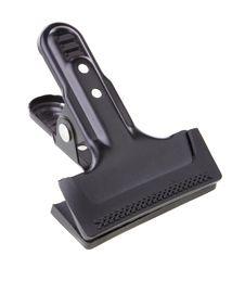 Free Black Steel Clip Stock Image - 33047671