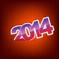 Free New 2014 Year Greeting Card Stock Images - 33053654