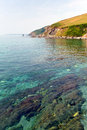 Free Clear Sea In Cornwall England Stock Photos - 33055533