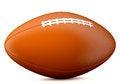 Free American Football Ball Royalty Free Stock Photography - 33056597