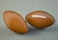 Free American Football Balls Stock Image - 33059741