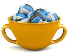 Free Valleyballs In Cup Stock Photo - 33054350