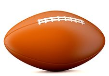 Free American Football Ball Royalty Free Stock Photography - 33056597