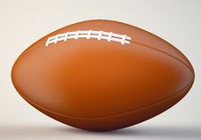 Free American Football Ball Stock Photography - 33059762