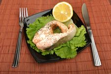 Prepared Salmon Stock Images