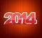 Free New 2014 Year Greeting Card Royalty Free Stock Photos - 33053648