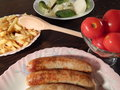 Free Grilled Sausages Stock Photos - 33062283