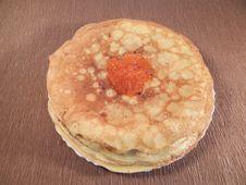Free Pancakes Royalty Free Stock Photo - 33061135