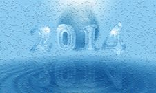 Free Water 2014 Card Stock Photography - 33061732