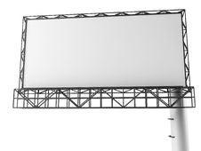 Free Blank Billboard Royalty Free Stock Photos - 33063078