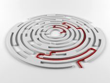 Free Labyrinth Stock Photo - 33063090