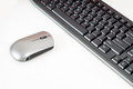 Free Wireless Mouse And Keyboard Royalty Free Stock Photography - 33073177