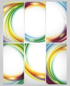Free Colorful Vector Set Royalty Free Stock Photo - 33077735