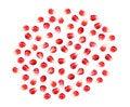 Free Pomegranate Fruit Seeds Royalty Free Stock Photos - 33085228