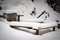 Free Snowy Furniture Stock Photos - 33089643
