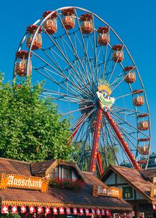 Free Festival Wheel Royalty Free Stock Image - 33085136