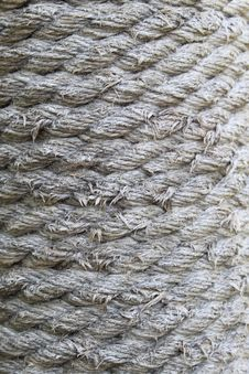 Free Hemp Rope Texture. Royalty Free Stock Photo - 33085285
