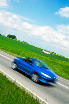 Free Car Speeding Stock Photos - 33086813