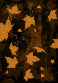 Free Autunm Leaf Paint Royalty Free Stock Photos - 33090168