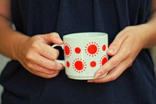Free A Spotted Mug Royalty Free Stock Photography - 33093907