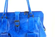 Free Azure Handbag Stock Photo - 3310230
