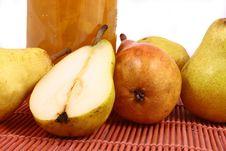 Jam Pear Stock Photo