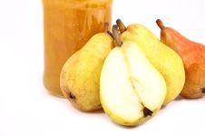 Jam Pear Stock Image
