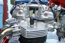 Free Motorcycle Engine Royalty Free Stock Photo - 3311165